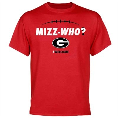 Georgia Bulldogs ''Mizz-Who?'' T-Shirt