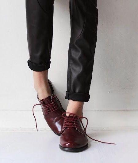 black & blood red