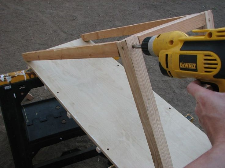 DIY how to build a dog ramp