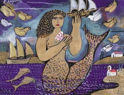 Because Mermaid is a Greek tradition