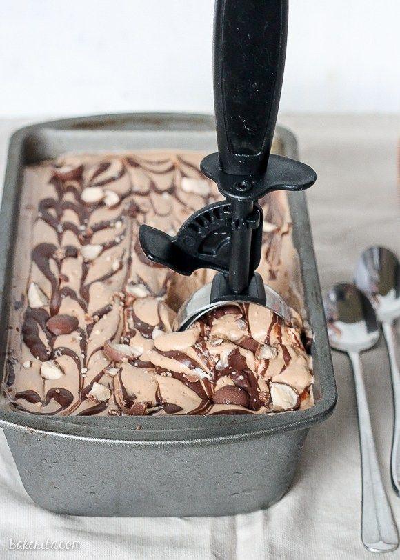 Chocolate Malt Mocha Crunch Ice Cream