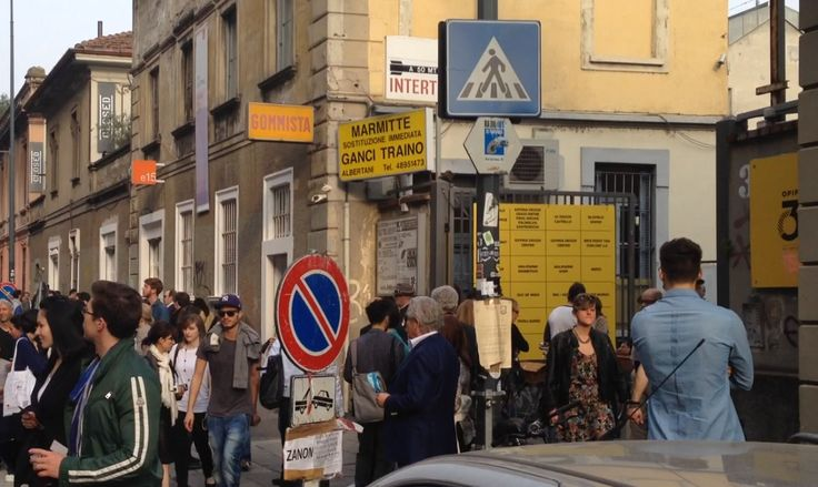 Fuorisalone 2015 - Via Tortona
