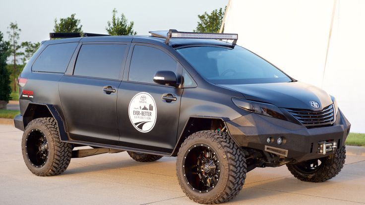 Toyota Ultimate Utility Vehicle....Ok, not a van guy, but I freakin want one. I saw it up close and personal, it's for real and it's badass!!