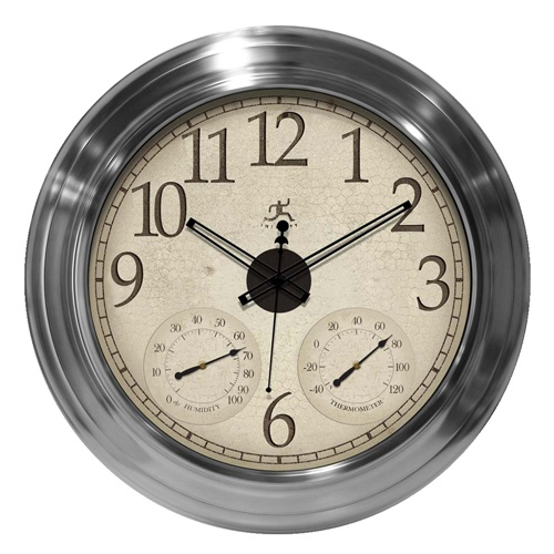 infinity instruments offers the solar flare wall clock adding a new style to