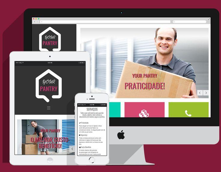 O site da Your Pantry segue a nova tendência web: design clean, layout intuitivo e 100% responsivo (funciona 100% em dispositivos móveis - smartphones e tablets). Confira:  ➡ http://yorkers.com.br/portfolio ➡ www.yourpantry.com.br