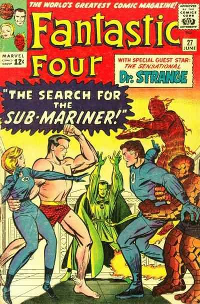 Fantastic Four # 27 by Jack Kirby Chic Stone