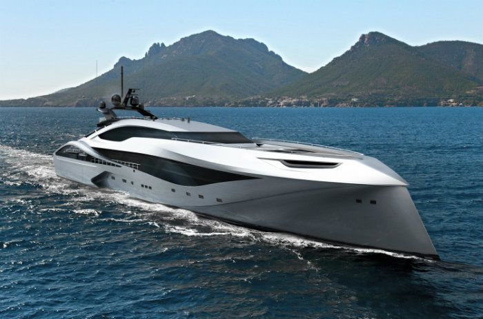 Under license granted by Bugatti, the world renowned yacht brand has designed a new series of stunning and elegant luxury yachts, featuring distinctive Bugatti design elements and advanced materials.
