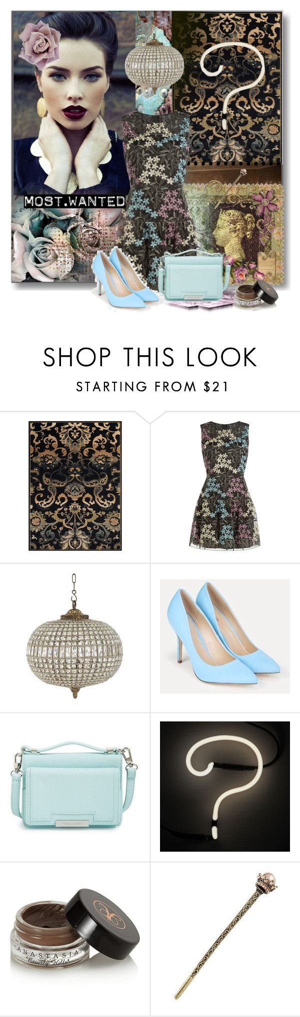 """""""Most Wanted............"""" by nz-carla ❤ liked on Polyvore featuring BD Fine, Revé, Anna Sui, Eichholtz, JustFab, Vince Camuto, Seletti and Anastasia Beverly Hills"""