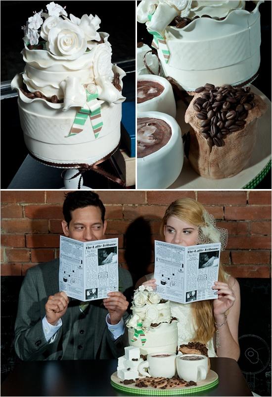 STARBUCKS wedding. other wedding ideas too!
