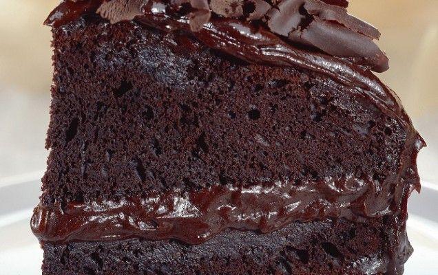 Σοκολατένιο κέικ με κρέμα - iCookGreek
