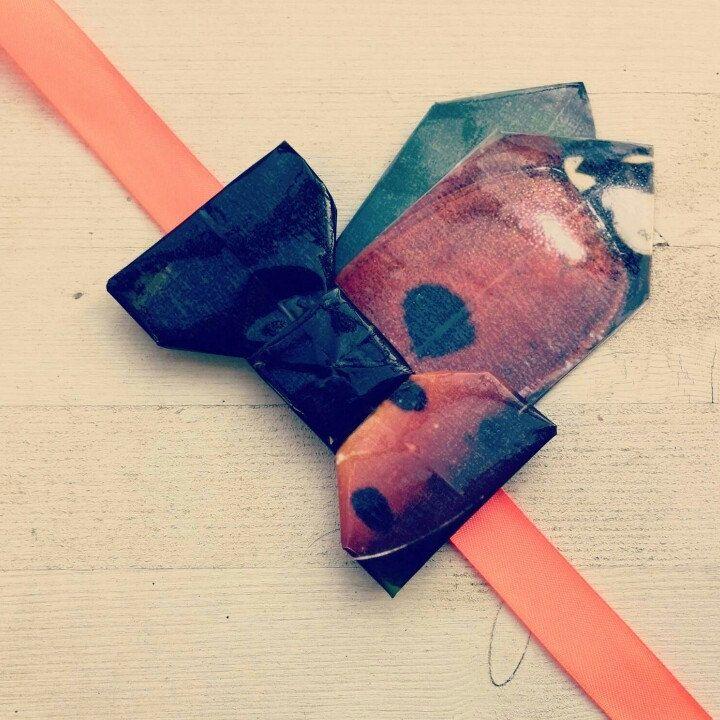 Nuovi farfallini origami con pochette da taschino. A breve disponibili in negozio
