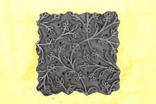 Индийская деревянная печать блоки деревянные печати штампы цветочный prinitng блоки старые