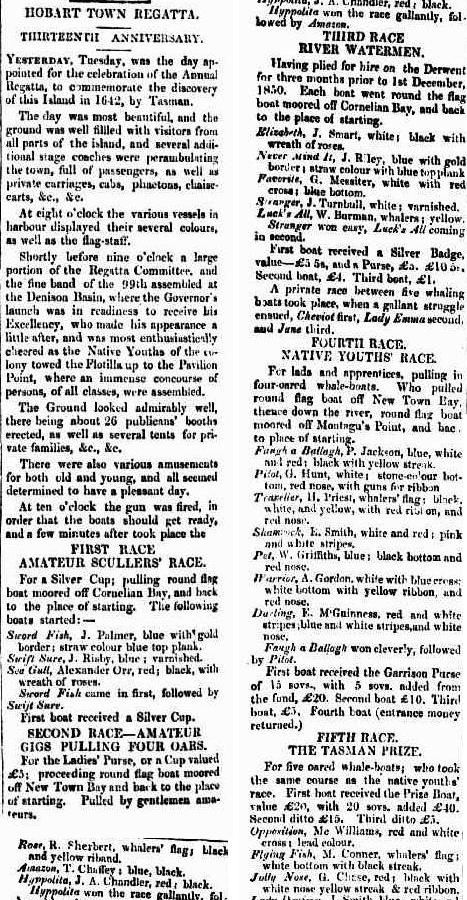 Irish Exile and Freedom's Advocate (Hobart Town, Tas. : 1850 - 1851), Saturday 7 December 1850, page 6