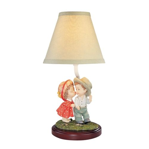Design classics lighting childrens accent table lamp 18 the kiss destination lighting