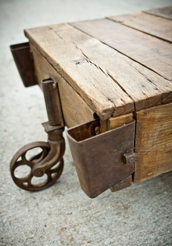 10 Best Images About Mining Cart Coffee Tables On Pinterest Shops Vintage Industrial And