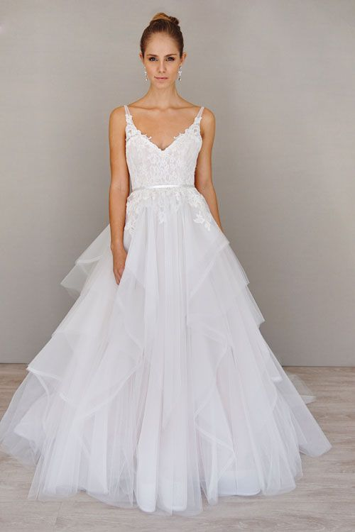 Alvina Valenta bridal gowns / Spring 2016 / Style 9605 Ball gown