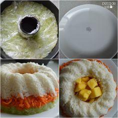 Rosca de vegetales y fruta con chamoy | http://www.pizcadesabor.com/2014/07/07/rosca-de-vegetales-y-fruta-con-chamoy/