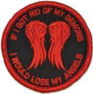 Daryl Dixon Walking Dead Parody - 3 inch Round Patch