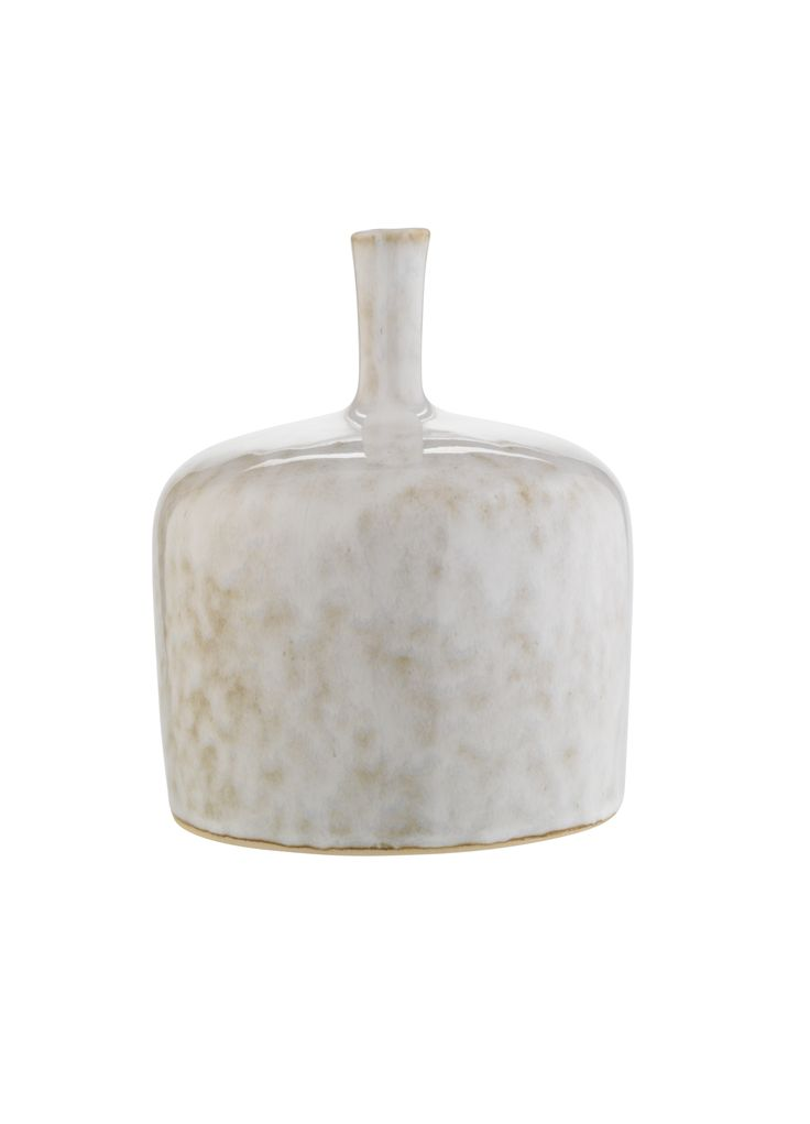 To create a uniquely stylish statement piece in your home, display this ceramic bottle with grey glaze on your mantelpiece or coffee table. Priced at £8