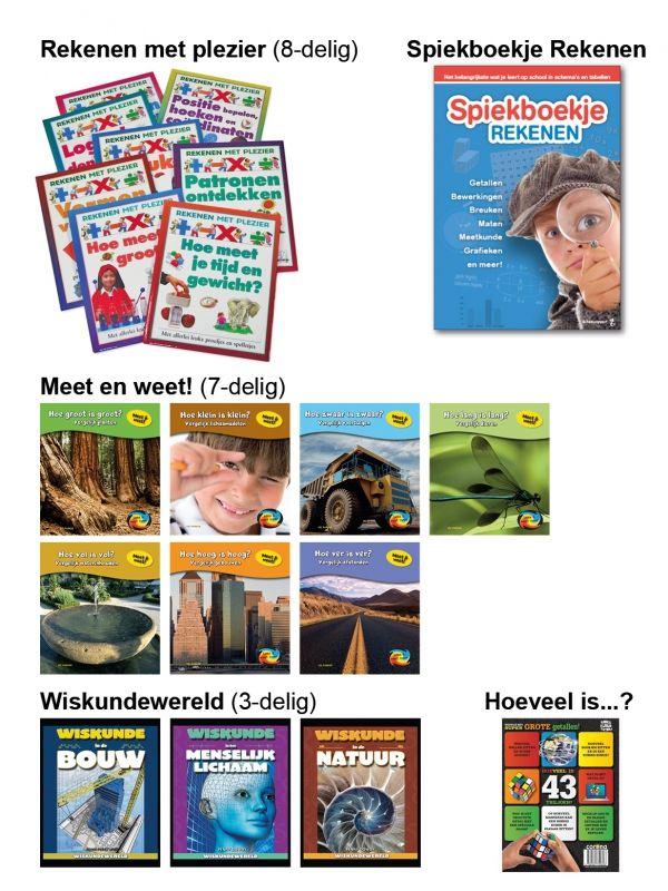Informatief Lezen - Voordeelpakket Rekenen 9+ (20-delig)