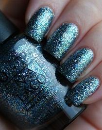 O.p.I: Small Pieces, Chips Easili, Glitter Nails Polish, Sparkle Nails, Opi Nails, Something Blue, Sparkly Nails, Nails Lacquer, Blue Nails