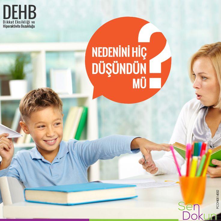 Öğretmenleri çocuğunuzun derse dikkatini veremediğini mi söylüyor?   Test Et, Fark Et! ► https://www.dehbtv.com/dikkat-eksikligi-hiperaktivite-bozuklugu-testi/  Referans: Dikkat Eksikliği Hiperaktivite Bozukluğu Klinik Uygulama Kılavuzu Türkiye-2008
