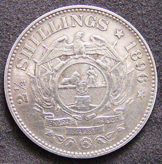 Lot pre 1900 ZAR South Africa 21/2 Shillings coins for grade and valuation - Coin Community Forum