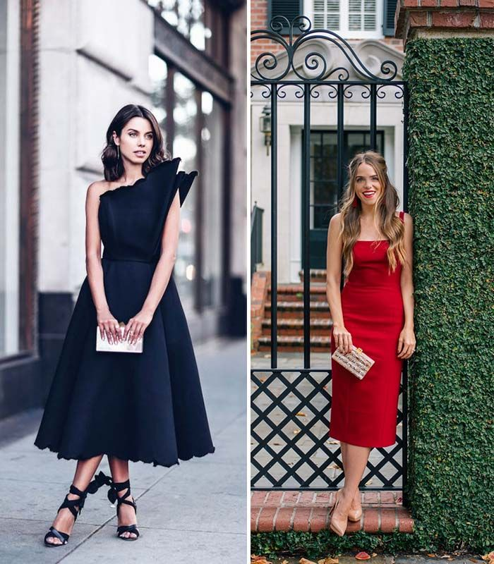 Decoding Guest Dress Code For Every Wedding Style - Black tie wedding guest dress