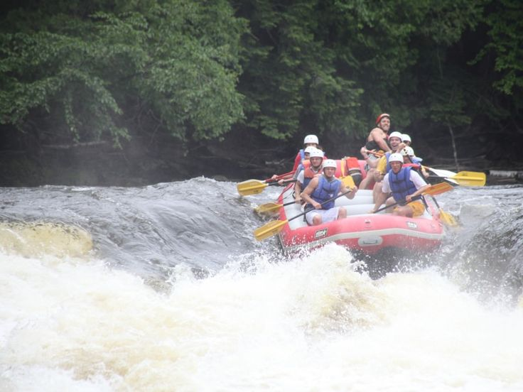 Whitewater rafting in the Chicago area isn't as far away as you think. Check out…