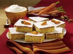 Unser beliebtes Rezept für Möhren-Blechkuchen mit Zitronenguss und mehr als 55.000 weitere kostenlose Rezepte auf LECKER.de.