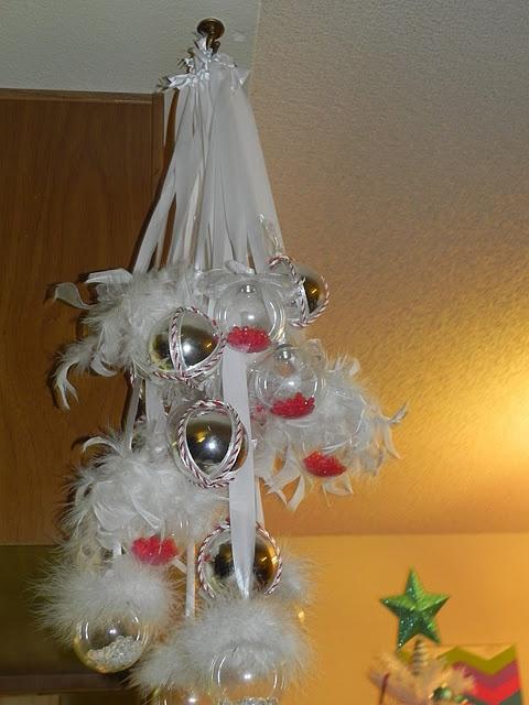 DIY Ornament Mini Chandelier