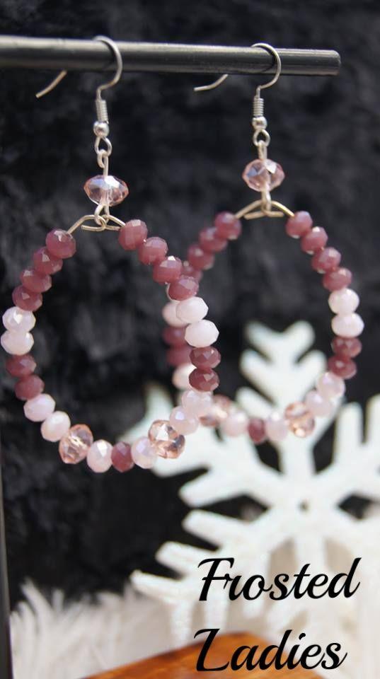 ❤Life Χειροποίητα Σκουλαρίκια φτιαγμένα με μοβ-ροζ, και άσπρα κρύσταλλα . Τα σκουλαρίκια αποτελούν αναμφισβήτητα μία επιλογή κοσμημάτων που μπορεί να κλέψει τις εντυπώσεις!