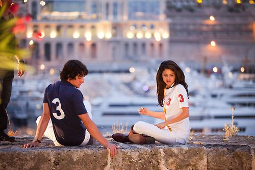 Pierre Boulanger and Selena Gomez in the movie Monte Carlo