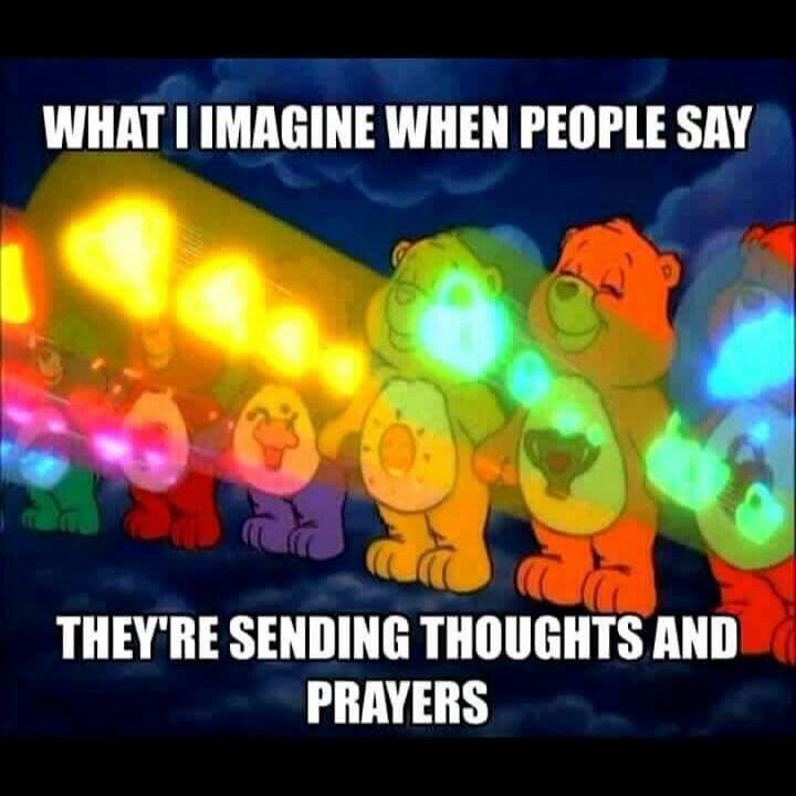 I cant be just me .. Thoughts and prayers