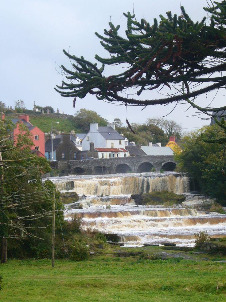 The Falls in Ennistymon, County Clare, Ireland