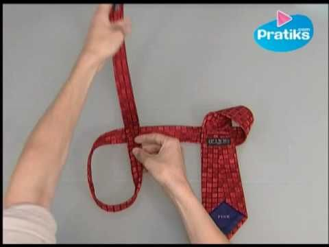 How to tie a tie in 10 seconds: wow!  Now I wish my husband wore ties more often!