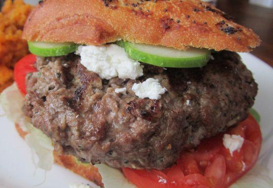 Featured Recipe: Lamb & Mint Burgers