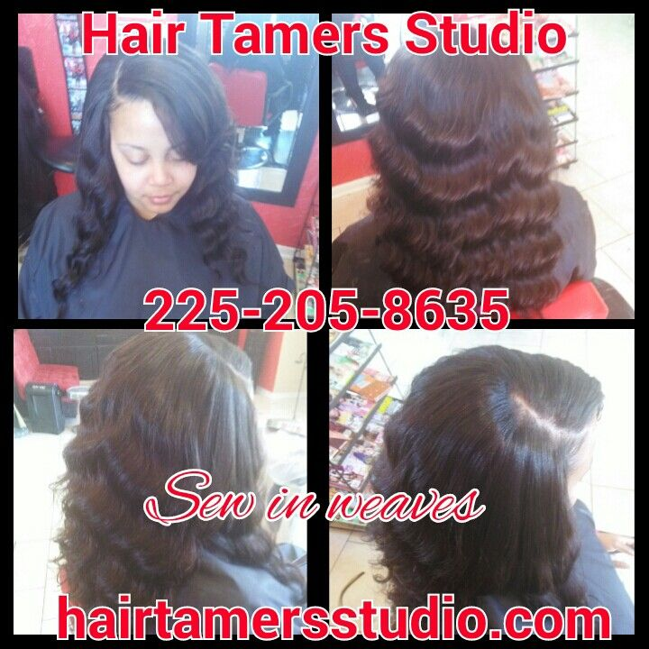 Sew in weaves hair extensions hair studio hair salon for Hair salon perfect first essential