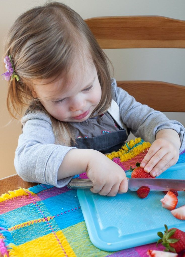 Tips for teaching toddlers in the kitchen | Aimee Wimbush-Bourque for Jamie Oliver