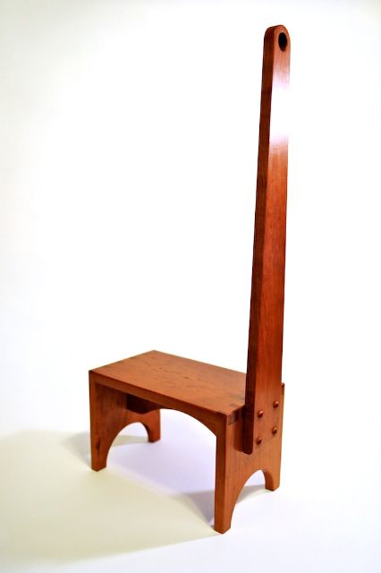 Another Shot Of The Shaker Single Step Stepstool....another Piece I