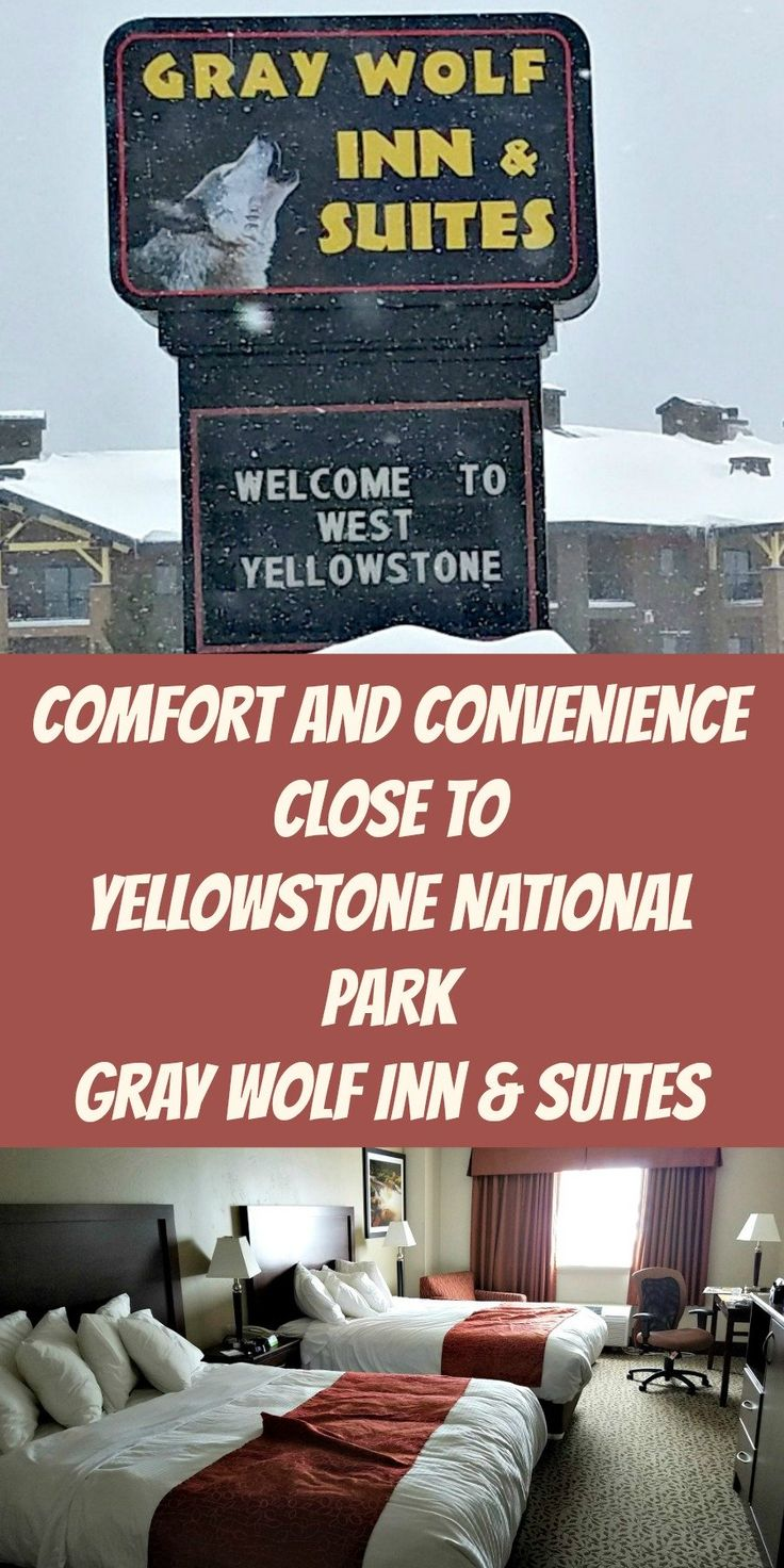 Gray Wolf Inn and Suites, Yellowstone National Park, West Yellowstone hotel, West Yellowstone Inn @yellvacations #Yellowstone