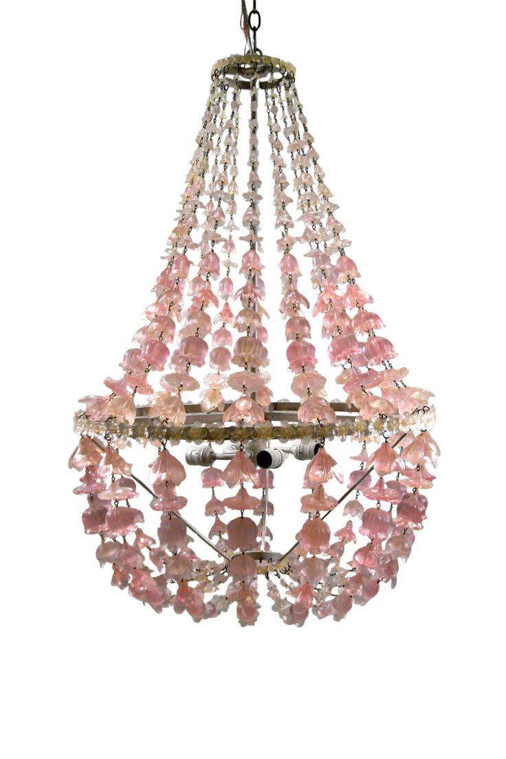 Yellow papillion lamp base by bungalow 5 rosenberryrooms com - Plum Flower Drop Chandelier