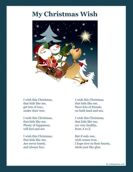 abbastanza Best 25+ Kids christmas poems ideas on Pinterest | Poems for  JO83