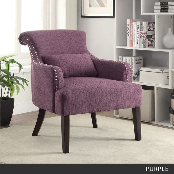 Furniture of America Romera Contemporary Accent Chair