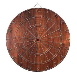 Wood WALNUT finish BUY BLANK Blanc Blanche + TEXT Dart Boards