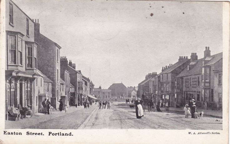 Postcard of Easton Street, PORTLAND, DORSET