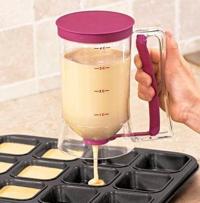 Дозатор для жидкого теста. Необычные кухонные гаджеты