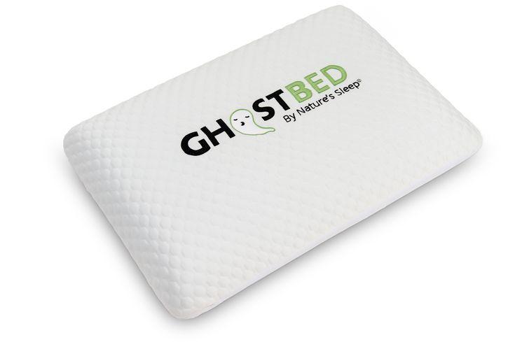 Ghostpillows choose between memory shredded faux down