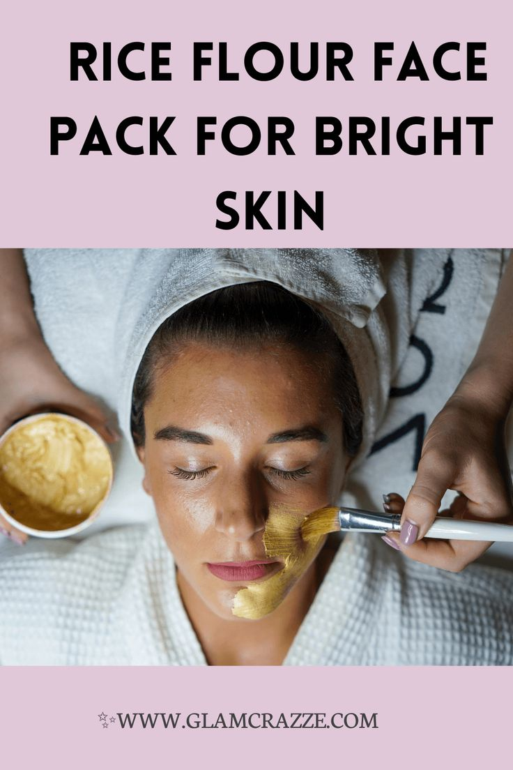 Rice flour face pack to get brighter skin at home in 2020