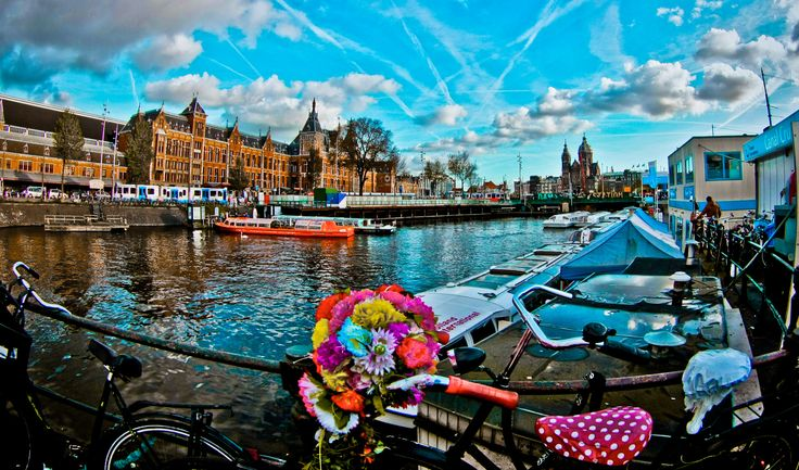 #Amsterdam #Holland #Holandia Agnieszka Fierek pracownik działu Call Center